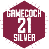 Gamecock 21 Silver (Traditional)