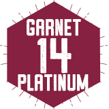 Garnet 14 Platinum (Traditional)